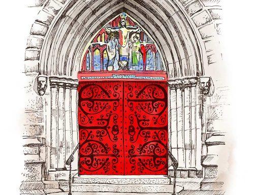 Saint Mark's Church Doors