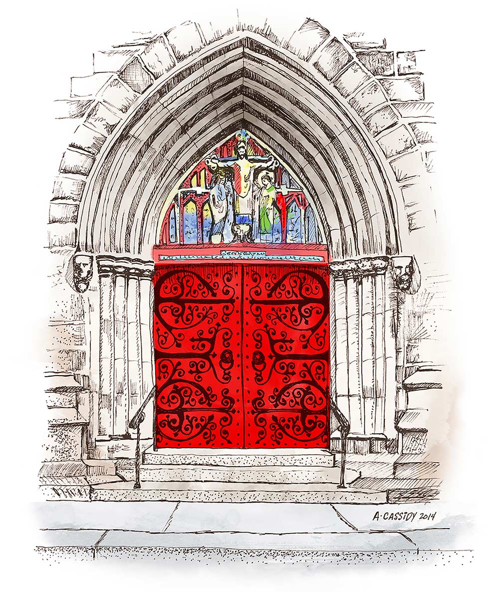 Saint Mark's Church Doors