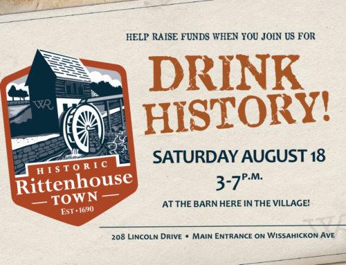 Beer Garden Fundraiser Postcard